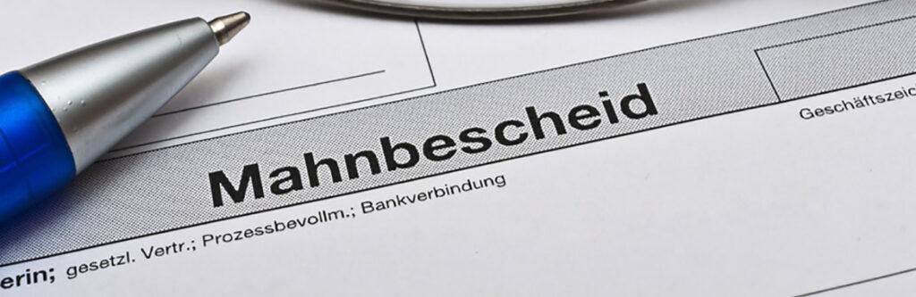 Das gerichtliche Mahnverfahren aus Sicht des Schuldners